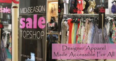 Designer Apparel Made Accessible For All