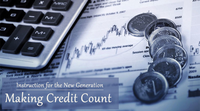 Instruction for the New Generation: Making Credit Count