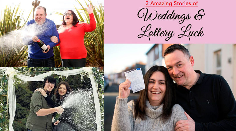 3 Amazing Stories of Weddings and Lottery Luck