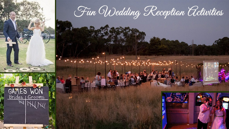 Looking For Fun Wedding Reception Activities Check Out These 10