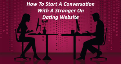 How to start a conversation with a girl on dating website