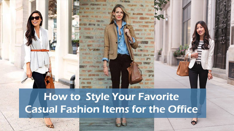 f027602fed How to Style Your Favorite Casual Fashion Items for the Office - Dot ...