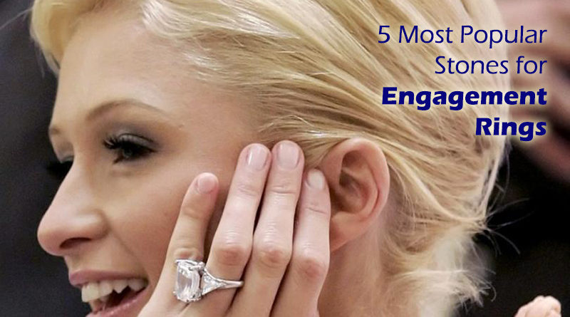 5 Most Popular Jewelry Stones For Women - Engagement Rings