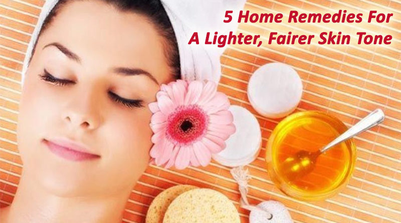 5 Home Remedies For A Lighter, Fairer Skin Tone