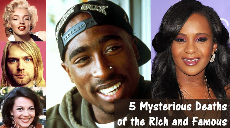 5 Mysterious Deaths of the Rich and Famous