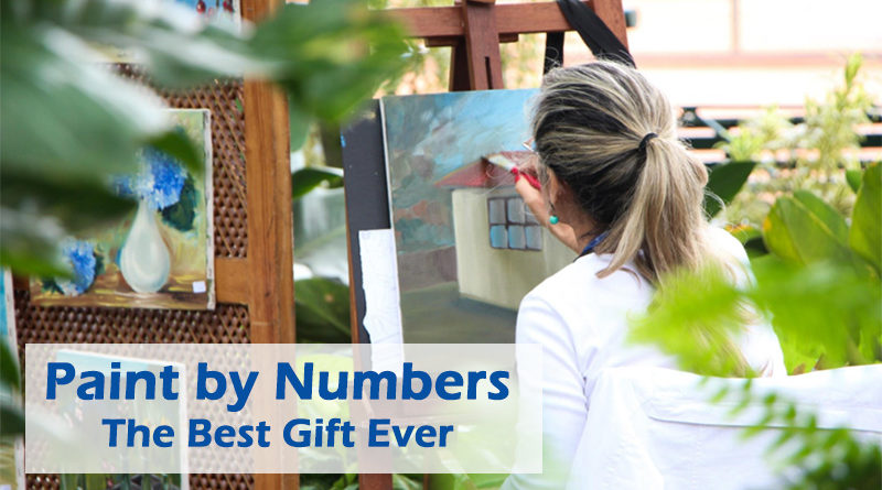 Paint by Numbers: the Best Gift Ever