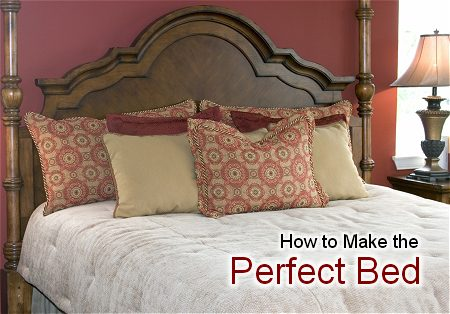 Bed Making Tutorial How To Make A