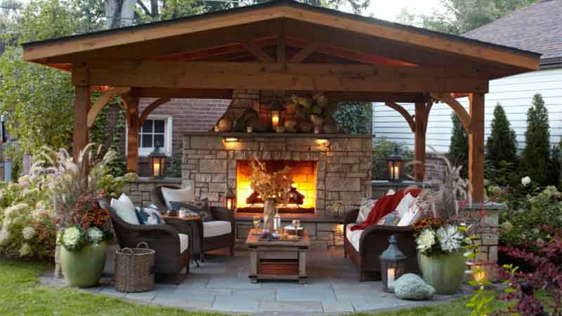 How To Create Inviting Outdoor Living Spaces Dot Com Women